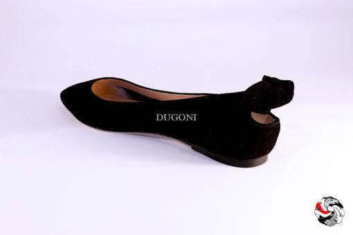 Ballerina fiocco nera </br> D879 Scarpe donna