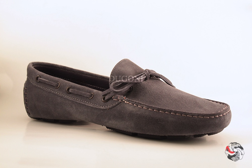 Mocassino Indios grigio </br> U080 Outlet