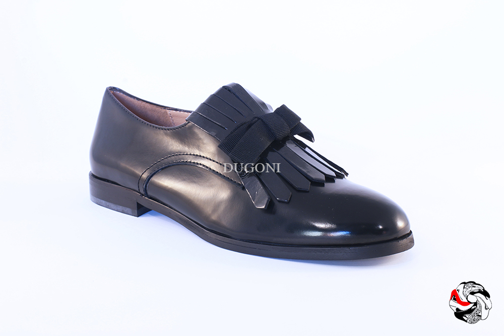 Slip-on frange e fiocco </br> D637 Outlet