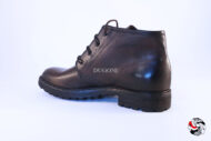 Stivaletto derby cioccolato </br> U163 Outlet