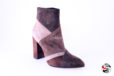 Stivaletto patchwork camoscio </br> D770 BLACK FRIDAY