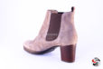Stivaletto tipo beatles taupe </br> D705 Outlet