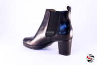 Stivaletto tipo beatles nero </br> D706 Outlet