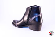Stivaletto texano nero </br> D794 BLACK FRIDAY