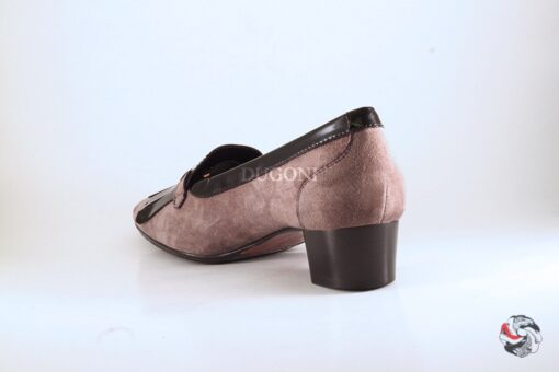 Pantofolina frange e fibbia D387 Outlet