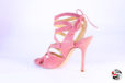 Sandalo rosa salmone </br> D857 Outlet