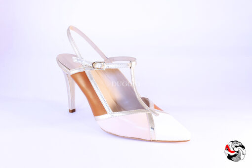 Slingback mondrian neutral T.95 </br> D858 Outlet