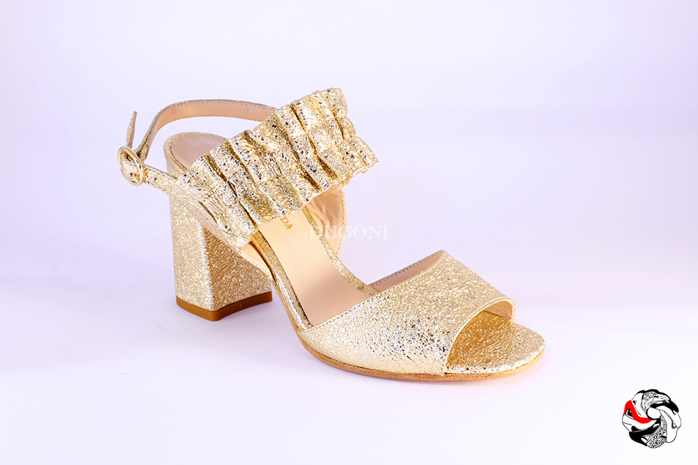 Sandalo rocher platino </br> D875 Scarpe donna
