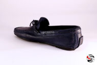 Mocassino Indios in pelle blu </br> U185 Outlet
