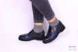 Slip on stampata blu e nera </br> D927 Outlet