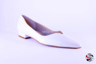 Ballerina bianca </br> D480 Ballerine