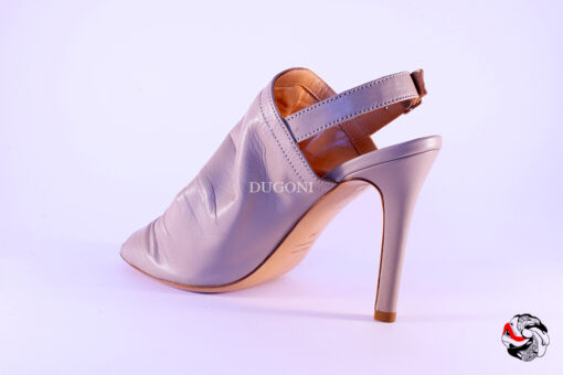 Tronchetto open-toe beige </br> D560 Outlet
