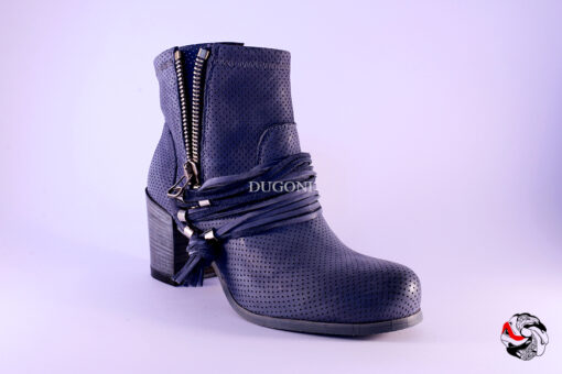 Stivaletto Blu D564 Outlet