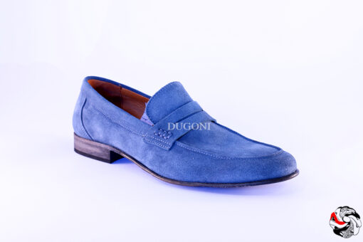 Mocassino Jeans Scamosciato U130 Outlet