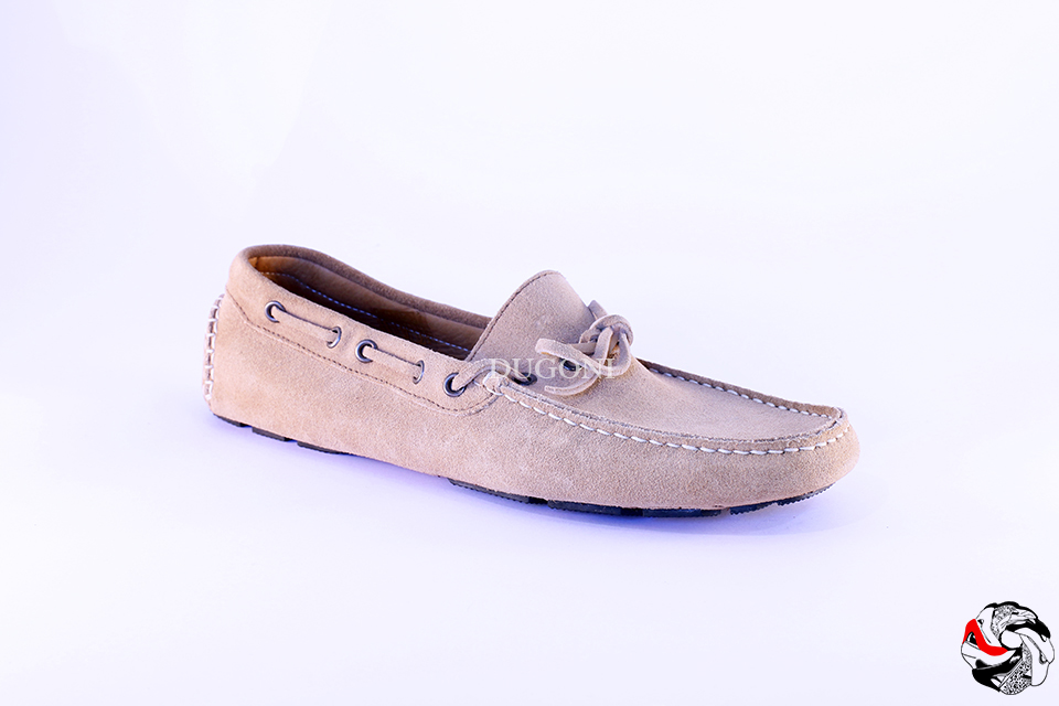 Mocassino Indios beige </br> U146 Outlet