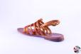 Sandalo Gladiatore Cuoio D625 Sandali bassi