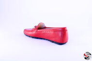 Mocassino Rosso D619 Outlet