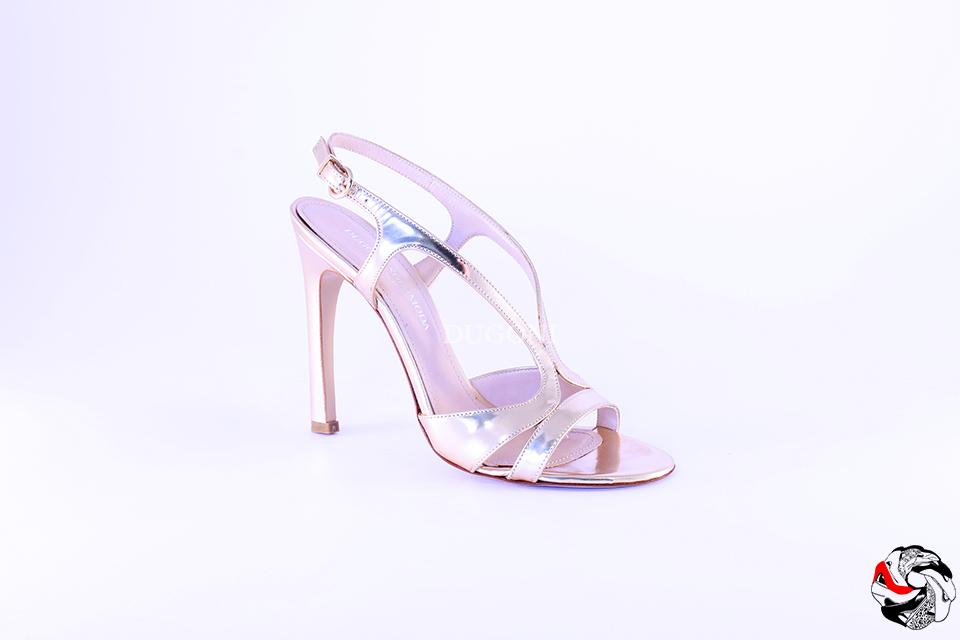 Sandalo Vernice Rame </br> D622 Outlet