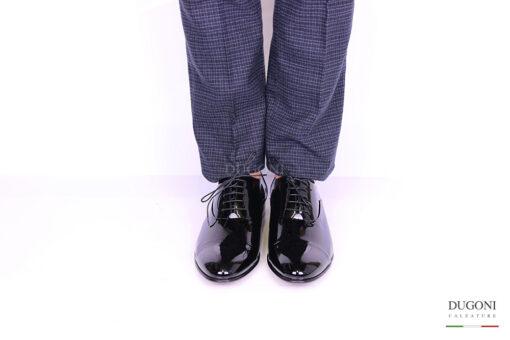 Francesina vernice nera – Lancio </br> U251 Calzature uomo