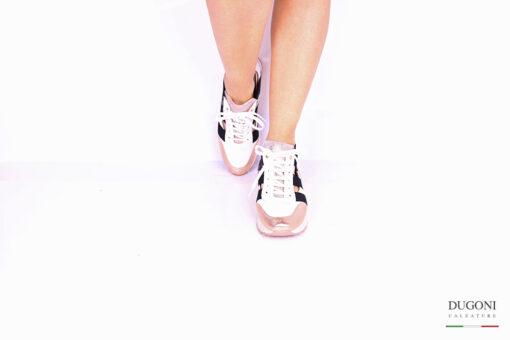 Sneaker con elastici </br> D1049 Outlet