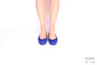 Ballerina blu </br> D1056 Ballerine