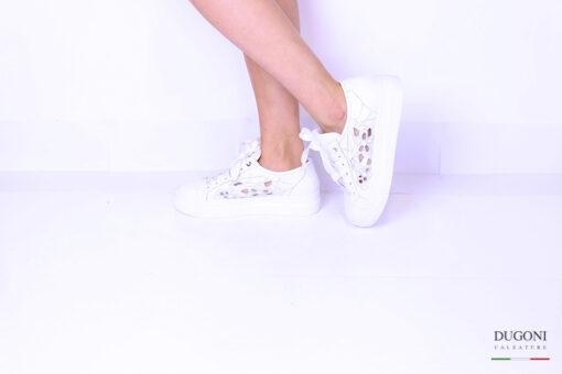 Sneaker bianca </br> D1057 Outlet