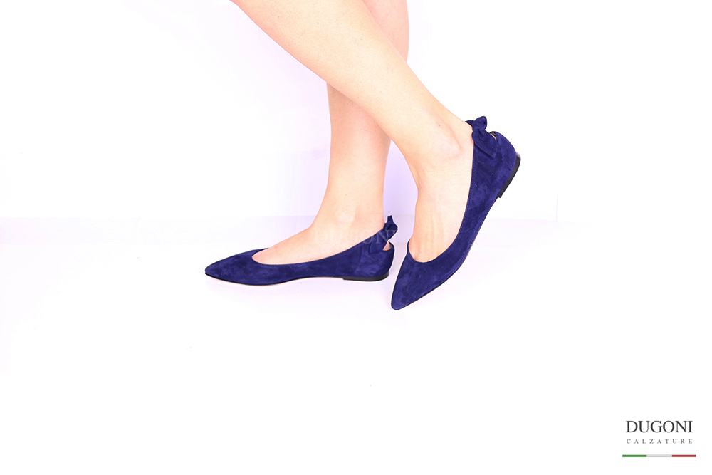 Ballerina fiocco blu </br> D1058 Ballerine