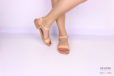 Sandalo in cuoio naturale </br> D1072 Scarpe donna