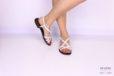 Sandalo multicinturino bianco </br> D1075 Scarpe donna