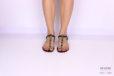 Sandalo infradito minimal cavallino </br> D1080 Scarpe donna