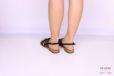 Sandalo gladiatore nero </br> D1062 Scarpe donna