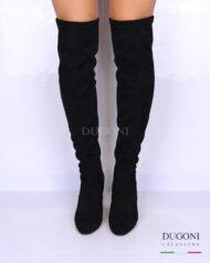Stivale sopra il ginocchio tacco alto </br> D1109 Scarpe donna