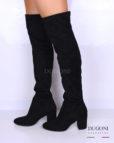Stivale sopra il ginocchio mezzo tacco </br> D1112 Scarpe donna